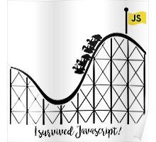 I survived Javascript Poster