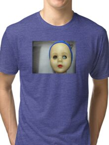 Doll face Tri-blend T-Shirt
