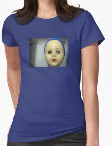 Doll face Womens Fitted T-Shirt