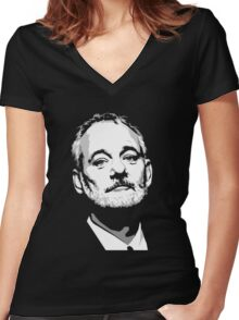 Actor Comedian Writer Women's Fitted V-Neck T-Shirt