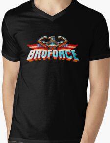 Broforce Mens V-Neck T-Shirt