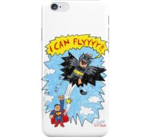 the flight of the bat iPhone Case/Skin