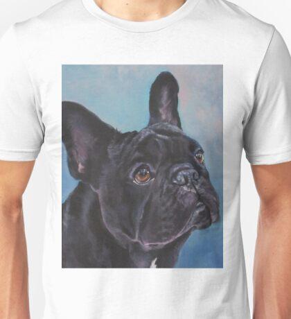 French Bulldog Fine Art Painting Unisex T-Shirt