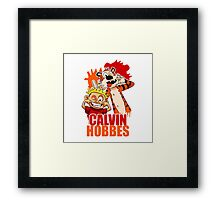 Calvin and Hobbes Time Framed Print