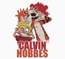 Calvin and Hobbes Time Kids Tee