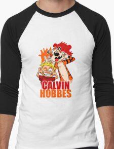 Calvin and Hobbes Time Men's Baseball ¾ T-Shirt