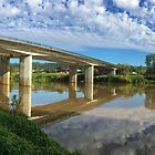 Penrith M4 Bridge over the Nepean River by GeorgeOne