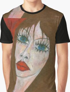 Green Eyed II Graphic T-Shirt