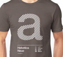 a .... Helvetica Neue Unisex T-Shirt