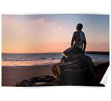 The Folkestone Mermaid Poster