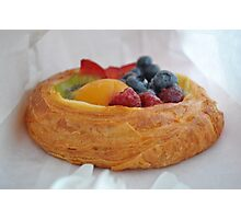 Fruit Pastry - ByWard Market Photographic Print