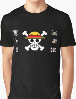 ONE PIECE - Pirates Of Heart Graphic T-Shirt