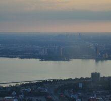 CN Tower View Sticker
