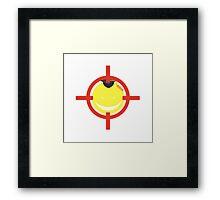 Sensei! Target On! Framed Print