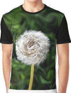 Furry  Pinwheel  Graphic T-Shirt
