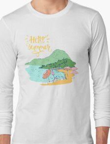 At the beach Long Sleeve T-Shirt