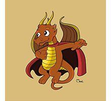 Dragon superhero cartoon Photographic Print