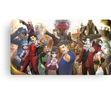Ace Attorney - Searchers of Truth Canvas Print