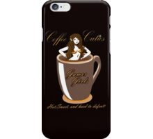 coffee culies ,gamer girl,hot,sweet,and hard to defeat iPhone Case/Skin