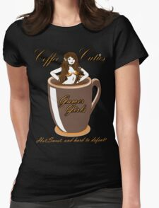 coffee culies ,gamer girl,hot,sweet,and hard to defeat Womens Fitted T-Shirt