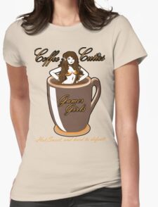 coffee culies ,gamer girl,hot,sweet,and hard to defeat Womens T-Shirt