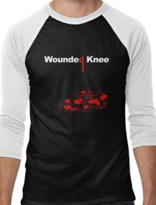 WOUNDED KNEE Men's Baseball ¾ T-Shirt