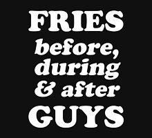 Fries Before, During And After Guys Women's Relaxed Fit T-Shirt
