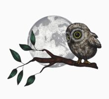 Moonlit Owl Kids Tee