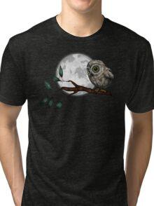 Moonlit Owl Tri-blend T-Shirt