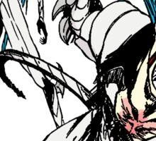 Grind, Pantera! Manga Print Sticker