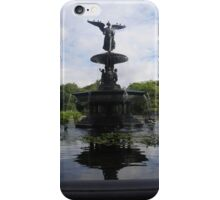 Bethesda Fountain Reflections iPhone Case/Skin