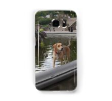 Cooling Off in Bethesda Fountain Samsung Galaxy Case/Skin