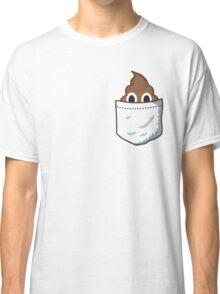 Pocket Poop Emoji Classic T-Shirt