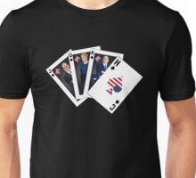 Spade Royal Flush Unisex T-Shirt