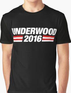 Underwood 2016 - White Graphic T-Shirt