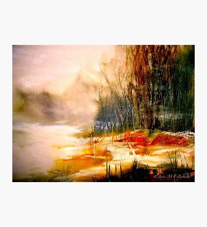 The First Warmth.. Photographic Print