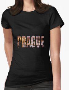 Prague Womens Fitted T-Shirt