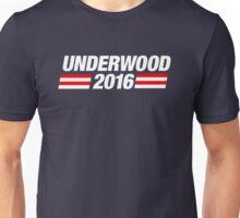 Underwood 2016 - White Unisex T-Shirt