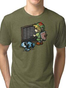 Hylian Detention Tri-blend T-Shirt