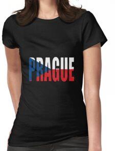 Prague. Womens Fitted T-Shirt