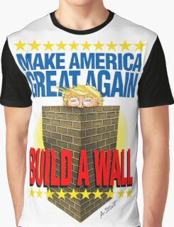 TRUMP's WALL Graphic T-Shirt