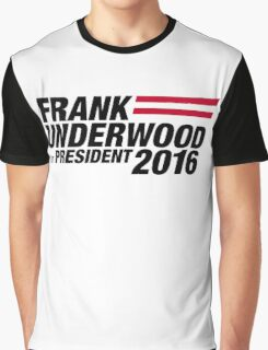 Frank Underwood - Black Graphic T-Shirt