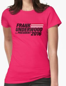 Frank Underwood - Black Womens Fitted T-Shirt