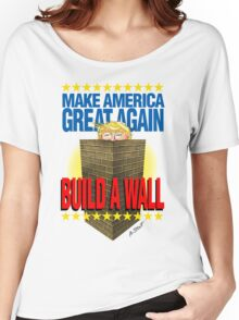 TRUMP's WALL Women's Relaxed Fit T-Shirt