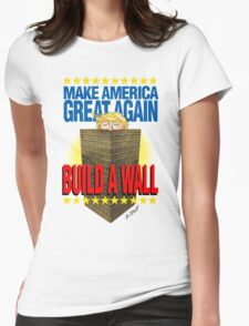 TRUMP's WALL Womens Fitted T-Shirt