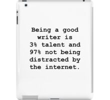 Good Writer iPad Case/Skin