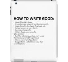 How To Write Good iPad Case/Skin