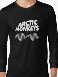 Arctic Monkeys - White Long Sleeve T-Shirt