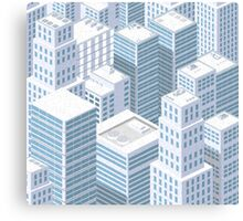 Rooftops skyscrapers Canvas Print