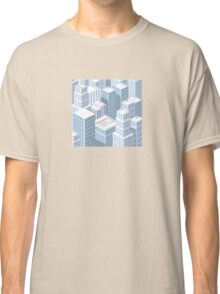 Rooftops skyscrapers Classic T-Shirt